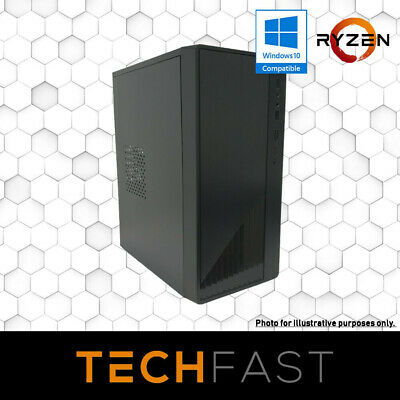 Ryzen 3 2200G RX 580 8GB 120GB SSD 8GB DDR4 Gaming PC Desktop Computer