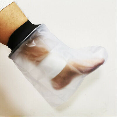 Foot Ankle Waterproof Cover Plaster Cast Dressing Protector Bag Reusable