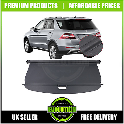 MERCEDES ML M CLASS W164 2006-2011 PARCEL SHELF LOAD LUGGAGE COVER BLIND NEW BOX
