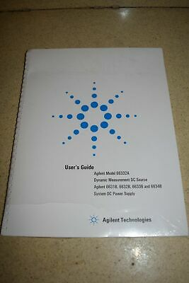 Agilent Technologies 66332A/6631B Dc Power Supply/Source User Guide 2003 (M18)