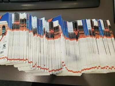 800 Ticket Lot - 2019 Baltimore Orioles Season MLB MINT Stub - 55+ Diff Games