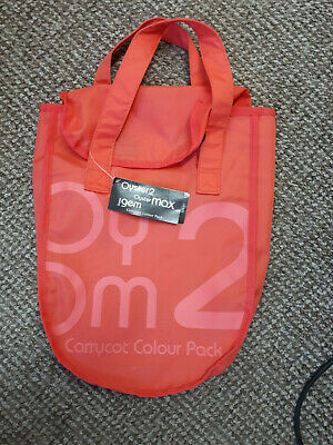 BabyStyle Oyster 2/Max Carrycot Colour Pack, coral