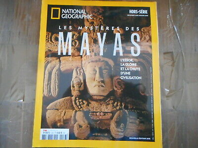 revue magazine  national geographic hors serie hs 33   LES MAYAS  histoire geo