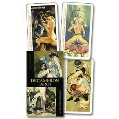 Decameron Tarot  Love Erotic 78 Cards Deck 7 Languages