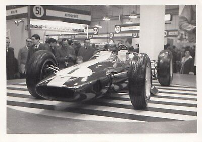 1963 Lotus 25 F1 Gp Champion Jim Clark Racing Car Show 1964 Original Photograph