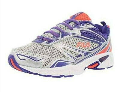 FILA KIDS ROYALTY Running Shoes Size 3 NEW Silver Purple