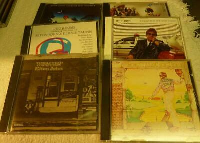 6 Elton John CD's,Reg Strikes Back,Greatest hits,West Coast,Two Rooms,Yellow etc