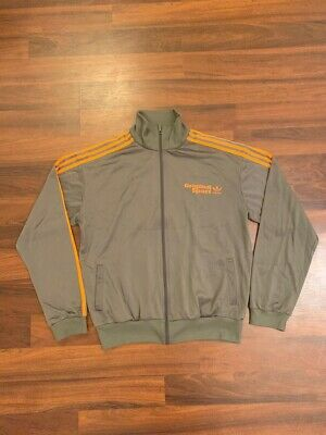 Adidas Original Vinatge Tracksuit XL Retro 90's  Track Top Jacket Big Logo