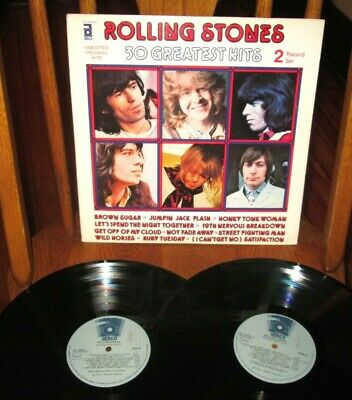 The Rolling Stones 30 Greatest Hits 2 Lp Set Nm Near Mint Abkco Italy Vinyl