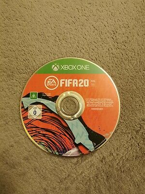 FIFA 20 Microsoft Xbox One Football Game 3+ Years without the case (disk only)