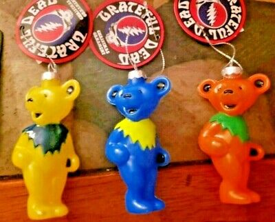 NEW Grateful Dead Orange Bear Christmas Ornament ~ NWT ~ Great Gift!