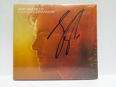 Jack Savoretti Singing to Strangers Signed Exclusive Edition Cd album Sealed