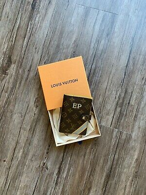 Authentic Louis Vuitton Small Ring Agenda
