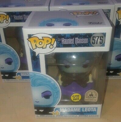 Disney Parks Haunted Mansion 50th gitd glow in the dark madame leota funko pop