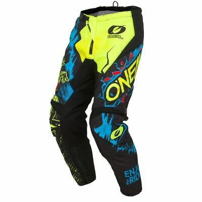 Gr/ö/ße 28//44 0124S-62 ONeal Element Kinder MX Hose Shocker Neongelb Motocross Enduro Offroad