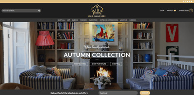 UK Furniture Product Business - Including Website, Domain And Hosting