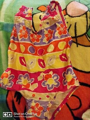 Lovely Girls  Multi Fashion Swimming costume Age 6-12 mths
