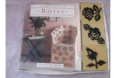 Stampability Roses Interior Decorating Effects With Stamps
