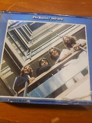 The Beatles 1967-1970 Blue Album 2 CD Set Original 1993 Clamshell Case Version
