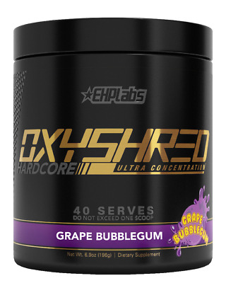Ehplabs Oxyshred Hardcore Most Potent Thermogenic Fat Burner Ehp Labs Oxy Shred
