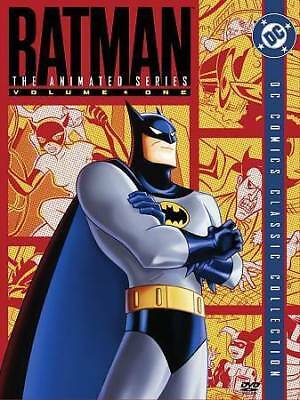 Batman: The Animated Series - Volume 1 (DVD, 2004, 4-Disc Set) *Complete*