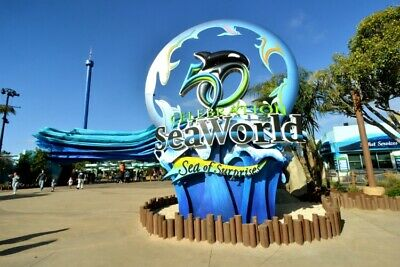 2 Seaworld San Diego One Day Passes Adult Or child Tickets Expires: 12/31/19