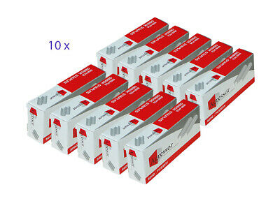 10 x Agressor staples to suit Stanley Bostitch - 6 mm B8 Staples (5000/ 1Pack)