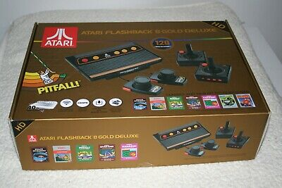 Atari Flashback 8 Gold Deluxe HD Console -