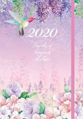 2020 Diary A5 Week to View by For Arts Sake Lilac Luxury FAS20550