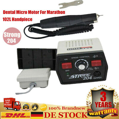 Electric Upgrade Dental Marathon Micromotor Strong 204 102L Handpiece 40KRPM NEW