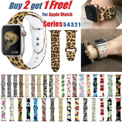 Silicone Band Strap For Apple Watch iWatch Sports Series 5 4 3 2 1 38/42/40/44mm