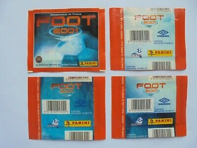 Pochette Panini Ligue 1 2000 2001 Foot Au Choix V1 V2 V3 Lot Tuto Packet Tuten