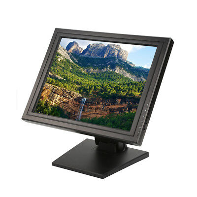 """17"""" Touchscreen LCD Monitor POS Interactive Multi Touch Screen Vandal Proof AU"""