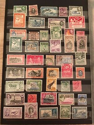 Stamps British Commonwealth Assortment 100 stamps Good Selection!
