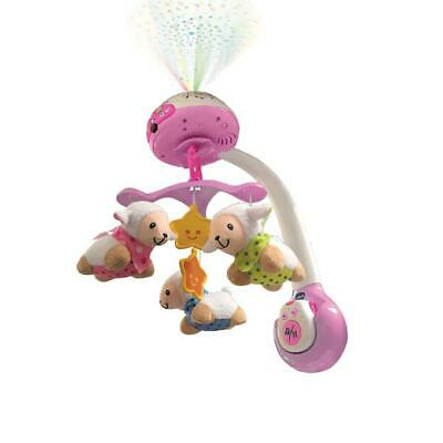 VTech Lumi mobile Compte-moutons Rose/Blanc (AA017)