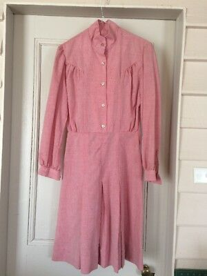"""Vintage Dress Hand Made In The 80""""s Size 12 never worn"""