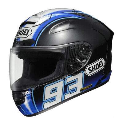 Shoei X Spirit 2 Marquez Montmelo Full Face Motorcycle Helmet Extra Small