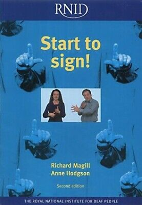 Start to Sign! by Hodgson, Anne 0900634847 FREE Shipping