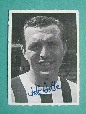 WEST BROM WBA JEFF ASTLE A/&BC-FOOTBALL 1969 GREEN BACK FACTS-#094