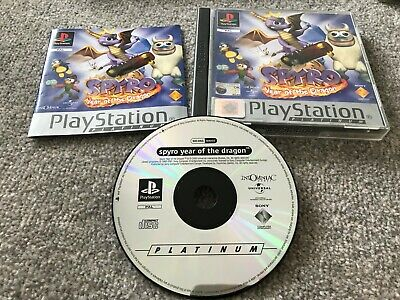 Spyro: Year Of The Dragon Sony PlayStation Platinum PS1 - FREE POST