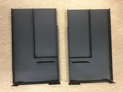 Dimplex Brayford Electric Stove Fire 2x Black Metal Panels/Covers BFD20R