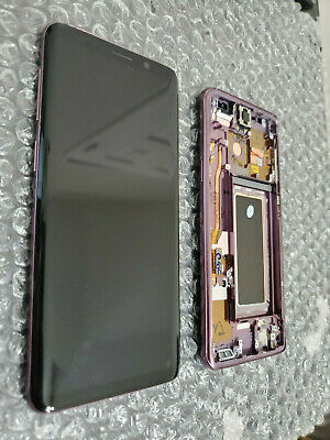 Good Samsung Galaxy S9 G960U G960 LCD Digitizer Frame Screen Lilac Purple - SBI