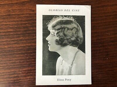 EILEEN PERCY RARE Trading Card Silent Film Actress 1920 Vintage