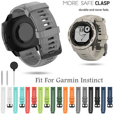 Wristbands 22mm Silicone Replacement Strap Watch Band For Garmin Instinct