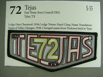 TX STS174 OA Tejas Lodge 72 S57 East Texas Area Council Tyler