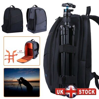 Waterproof Travel DSLR SLR Camera Bag Backpack Accessories For Canon Nikon Sony