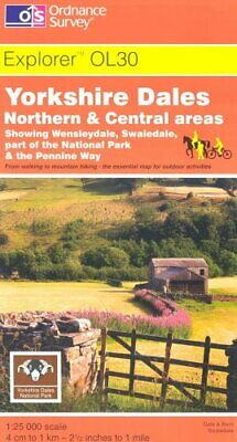 Yorkshire Dales: Northern and Central Areas (Explorer Maps), Ordnance Survey, Us