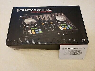 Native Instruments Traktor S2 Controller Brand New unregistered.Mint Condition