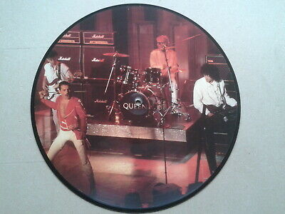 Queen Greatest Hits, Original Bulgarian Only Picture Disc Vinyl 1984 Xtra tracks