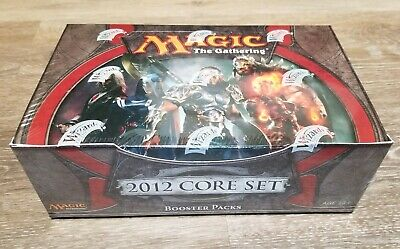 MTG Magic The Gathering Core Set 2012 Booster Box Factory Sealed English